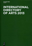 International Directory of Arts 2013