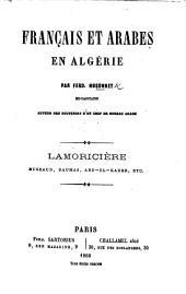 Français et Arabes en Algérie, etc