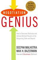 Negotiation Genius PDF