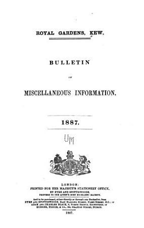 Kew Bulletin PDF