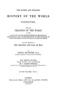 The Sacred and Profane History of the World Connected PDF
