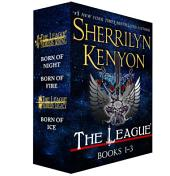 The League: Nemesis Rising, Books 1-3: Born of Night, Born of Fire, Born of Ice