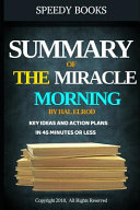 Summary of the Miracle Morning by Hal Elrod PDF