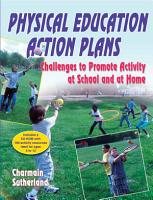 Physical Education Action Plans PDF
