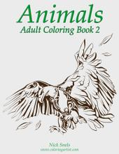 Animals Adult Coloring Book 2
