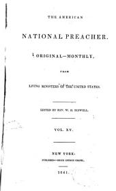 The American National Preacher: Volumes 15-16