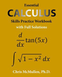 Essential Calculus Skills Practice Workbook with Full Solutions Book
