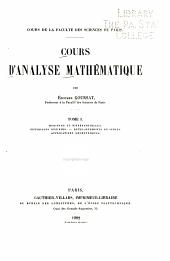 Cours d'analyse mathematique: Dérivées et différentielles. Intégrales définies. Développements en séries. Applications géométriques