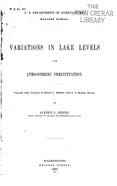 Variations in Lake Levels and Atmospheric Precipitation