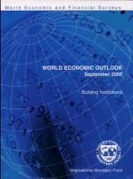 World Economic Outlook  September 2005 PDF