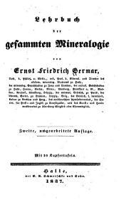 Lehrbuch der gesammten Mineralogie