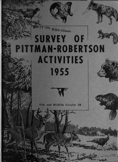 Survey of Pittman Robertson Activities PDF