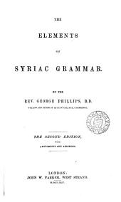The Elements of Syriac Grammar