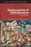 Geographies of Globalization PDF