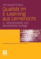Qualität im E-Learning aus Lernersicht: Ausgabe 2
