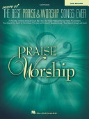 More of the Best Praise   Worship Songs Ever PDF