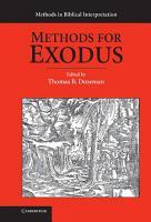 Methods for Exodus PDF