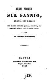 Cenno storico sul Sannio