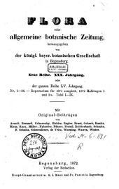 Flora oder allgemeine botanische Zeitung