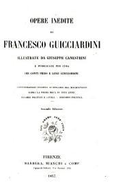 Opere inedite di F. Guicciardini