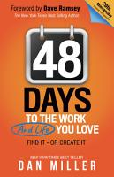 48 Days to the Work and Life You Love PDF