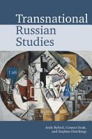 Transnational Russian Studies PDF