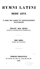 Hymni ad sanctos
