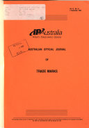 Download Australian Official Journal of Trade Marks Book