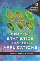 Spatial Statistics Through Applications Book