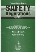 Federal Motor Carrier Safety Regulations Pocketbook  7orsa  Book