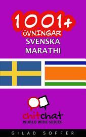 1001+ övningar svenska - marathi