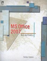 MS Office 2007 in a Nutshell PDF