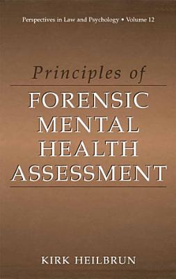 Principles of Forensic Mental Health Assessment PDF