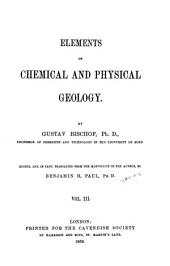 Elements of Chemical and Physical Geology ...