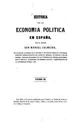 Historia de la economía política en España: II, Volumen 2