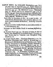 Jo. Alberti Fabricii ... Bibliothecae graecae volumen octavum, libri V, pars IV ac penultima: in qua de philosophis, Themistio, Theone, Paoop ... atque aliis ... scriptoribus graecis disseritur