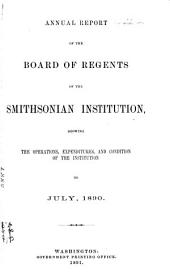 Annual Report of the Board of Regents of the Smithsonian Institution: Part 2