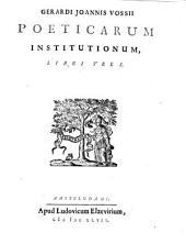 Poeticarum institutionum libri tres