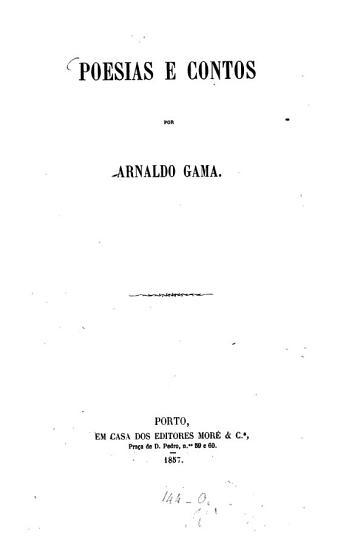 Poesias e contos PDF