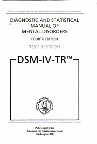 Diagnostic and Statistical Manual of Mental Disorders  Fourth Edition Book