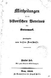Mittheilungen: Bände 5-6