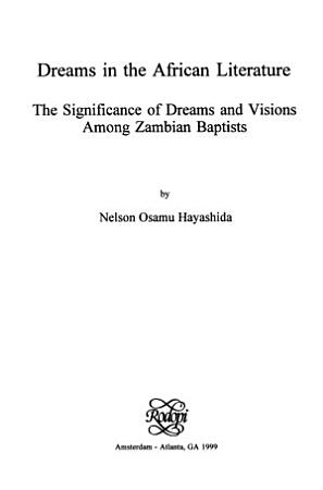 Dreams in the African Literature PDF