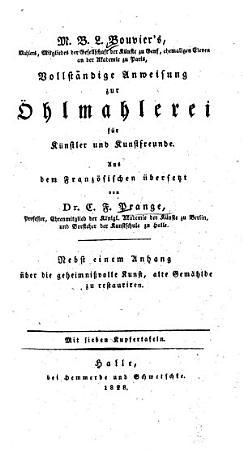 Vollst  ndige Anweisung zur   hlmahlerei f  r K  nstler und Kunstfreunde PDF