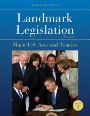 Landmark Legislation 1774 2012 PDF