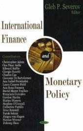 International Finance and Monetary Policy