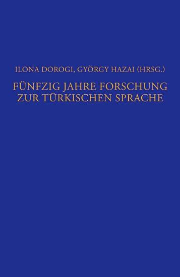 F  nfzig Jahre Forschung zur t  rkischen Sprache PDF