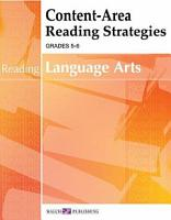 Content area Reading Strategies For Language Arts PDF