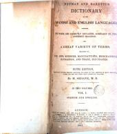 Neuman & Baretti's Dictionary of the Spanish and English Languages ...