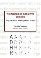 The World of Cognitive Science   Why can people read fragmented letters    PDF