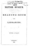 Reading room and Libraries PDF